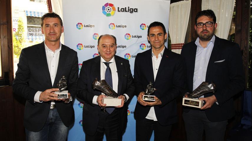 LaLiga reconoce la labor de los delegados y árbitros de Liga BBVA y Liga Adelante