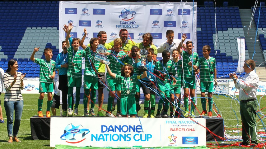 Todo a punto para la final nacional de la Danone Nations Cup