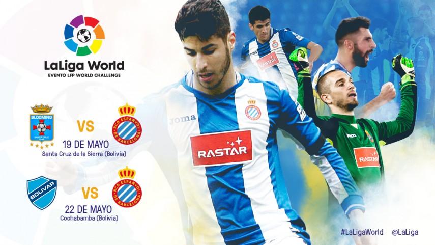 El RCD Espanyol repite experiencia en LaLiga World