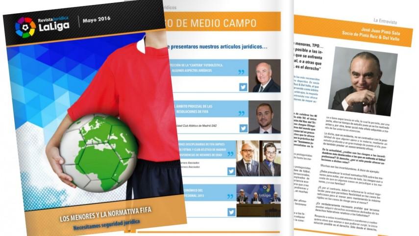 Llega el cuarto número de la Revista Jurídica LaLiga