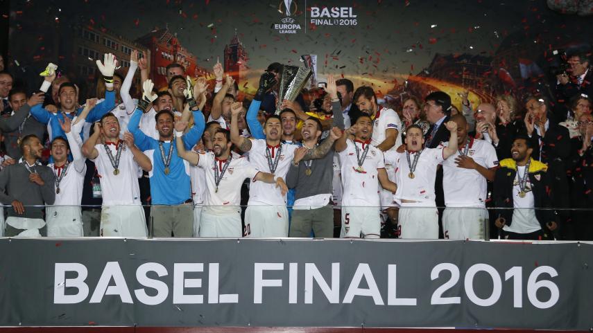 El Sevilla FC, equipo de Récord Guinness