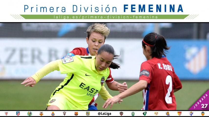 La lucha por el título, protagonista de la jornada 27 de la Primera División Femenina