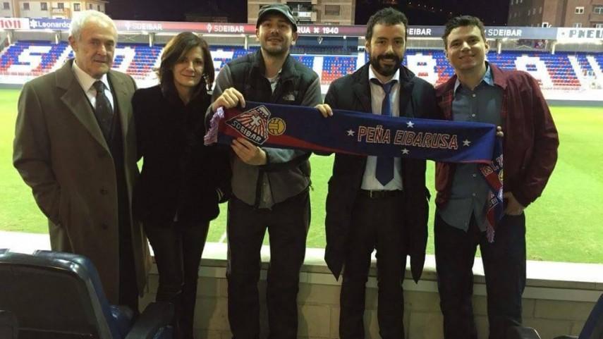 Los seguidores del Eibar se movilizan en la primera gira del club en EE.UU.