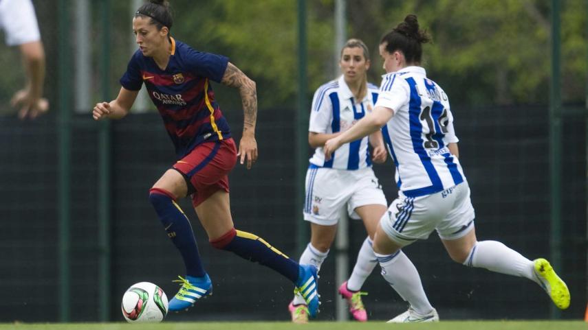 Jenni Hermoso, máxima goleadora de la Primera División Femenina una jornada más