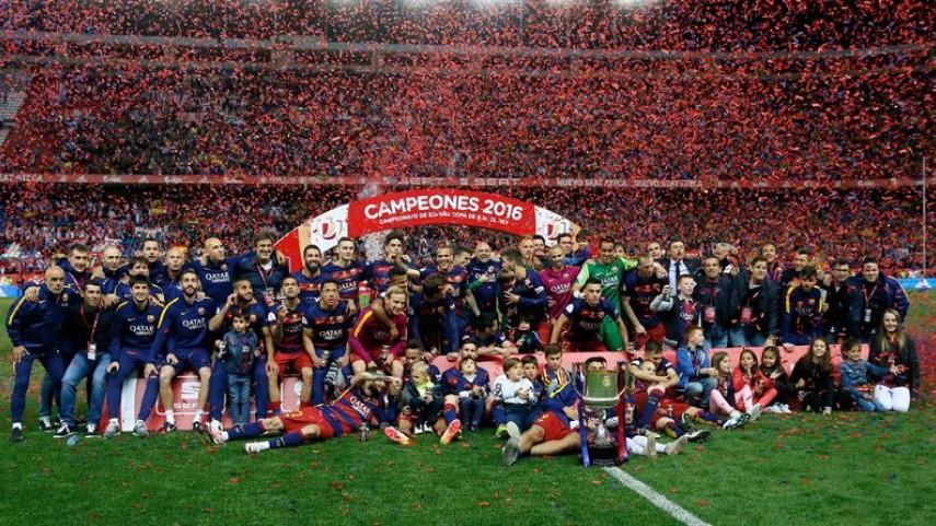 El FC Barcelona, campeón de la Copa del Rey