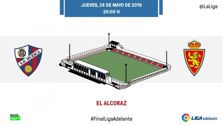 El Huesca busca la permanencia ante un Zaragoza necesitado de puntos