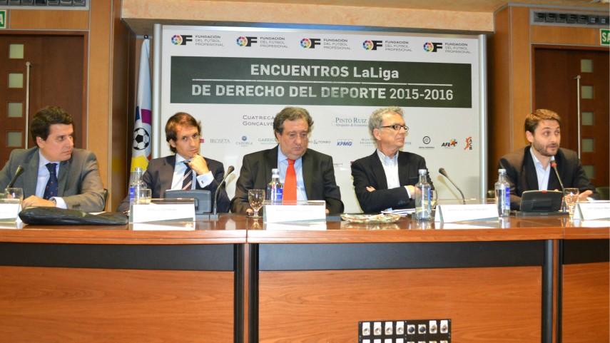 10º Encuentro LaLiga de Derecho del Deporte 2015-2016