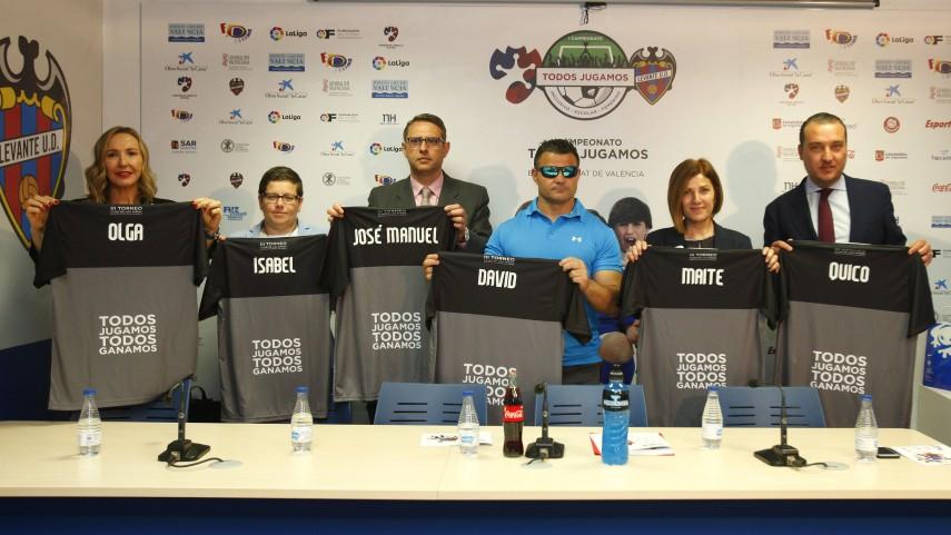 La Fundación de LaLiga colabora en el I Campeonato Todos Jugamos