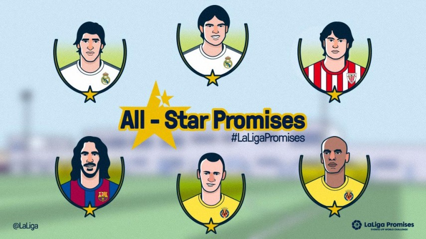 El partido All Stars inaugurará el XXV Torneo Nacional PAMESA LaLiga Promises