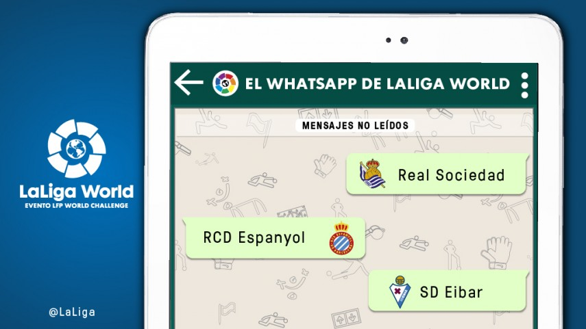 El whatsapp de LaLiga World