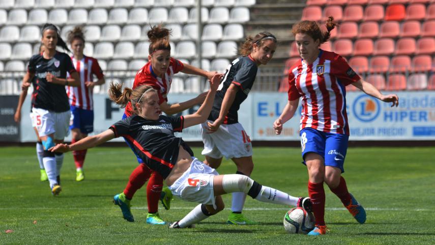 Más de 370.000 usuarios únicos siguieron el partido entre el At. Madrid Féminas - Athletic Club