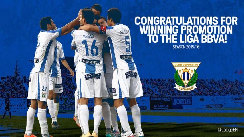 Leganes win historic first promotion to Liga BBVA