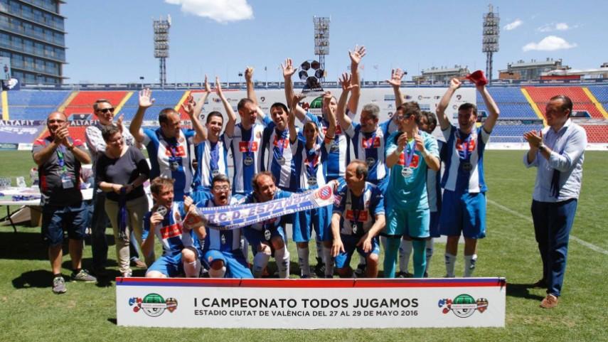 Gran éxito del I Campeonato Nacional TODOS JUGAMOS