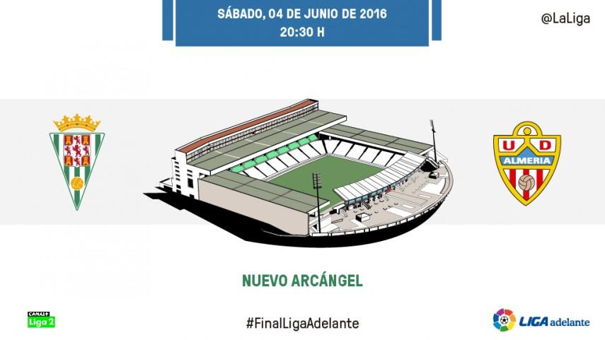Todo o nada para Córdoba CF y UD Almería