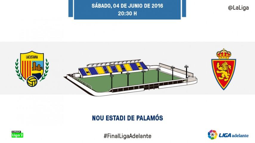 El Zaragoza busca amarrar la cuarta plaza en Palamós
