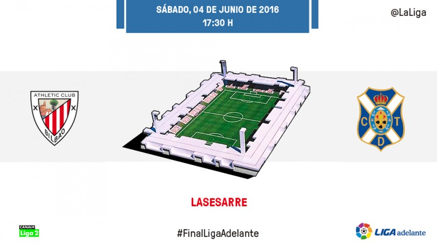 Último baile entre Bilbao Athletic y Tenerife