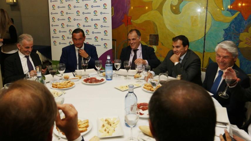 LaLiga homenajea a los directivos que han trabajado por el crecimiento del fútbol español