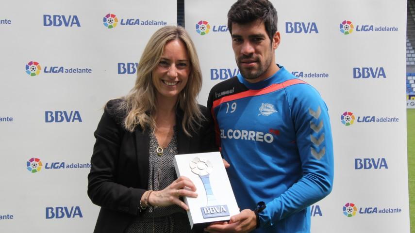 Manu García, Mejor Jugador de la Liga Adelante en Mayo