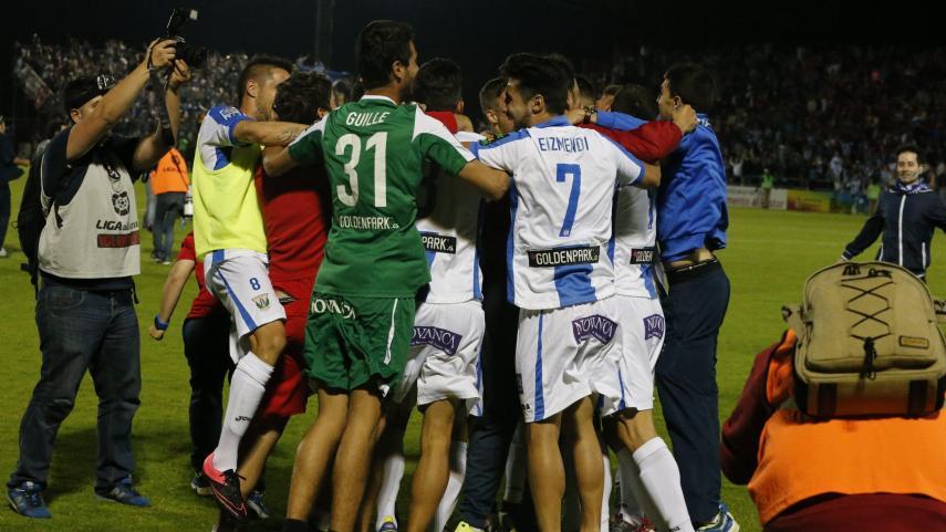 El CD Leganés asciende a la Liga BBVA