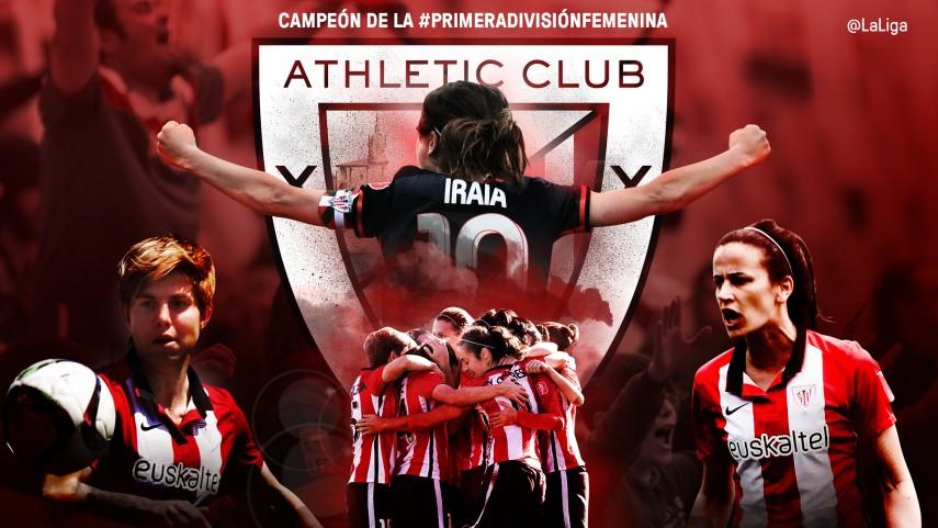 El Athletic se proclama campeón de la Primera División Femenina