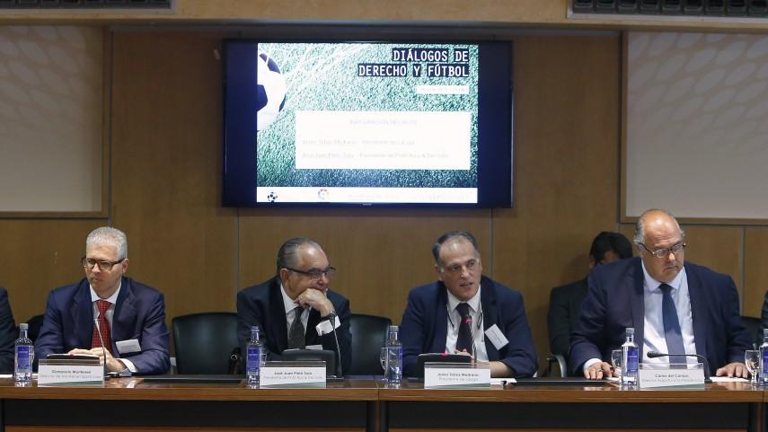 LaLiga acoge la jornada sobre 'Diálogos de Derecho y Fútbol'