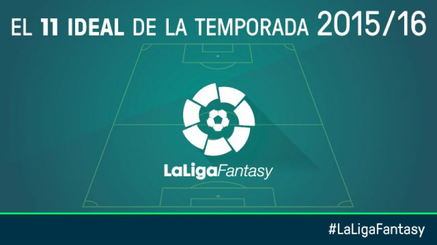 Once ideal de la temporada en LaLiga Fantasy