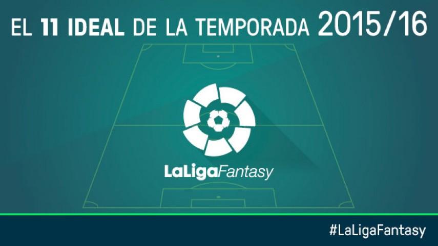 Once ideal de la temporada en LaLiga Fantasy