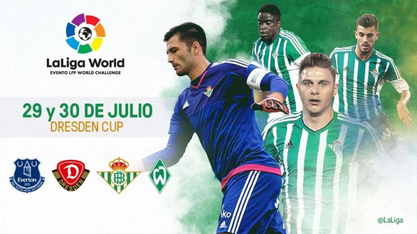 El Real Betis amplía su participación en LaLiga World con la Dresden Cup
