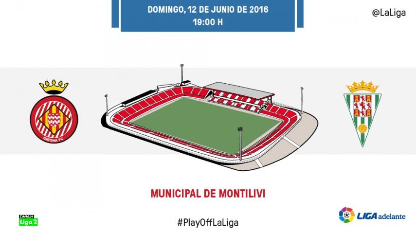 Girona y Córdoba se preparan para el asalto definitivo