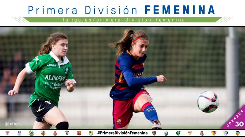La Primera División Femenina llega a su fin con una jornada apasionante