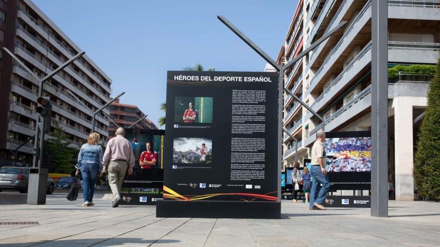 LaLiga estará presente en la inauguración de la exposición 'Héroes del Deporte Español' en NY