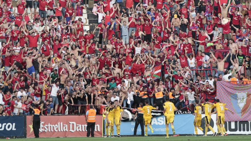 Osasuna, primer finalista del play-off