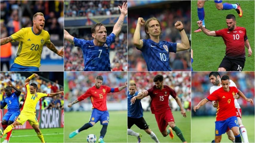 ¿Qué dorsales llevan los jugadores de LaLiga en la UEFA EURO 2016?
