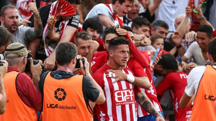 El Girona llega a la antesala de la Liga BBVA con remontada