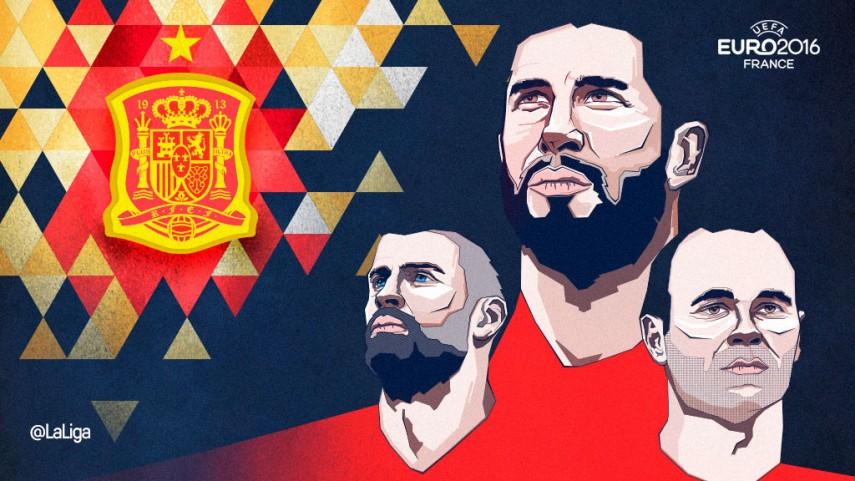 España arranca su andadura en la UEFA EURO 2016 frente a la República Checa
