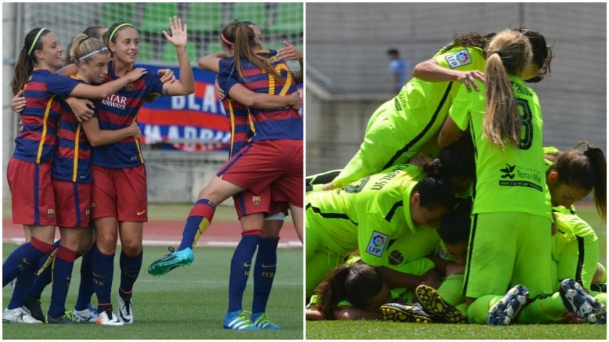 El FC Barcelona y el Levante Femenino, los primeros semifinalistas de la Copa de la Reina