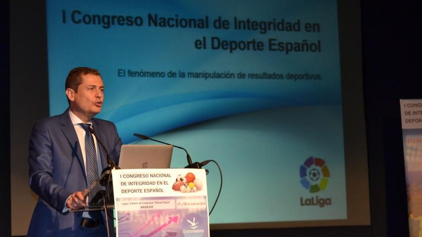 LaLiga participa en el I Congreso Nacional de Integridad en el Deporte