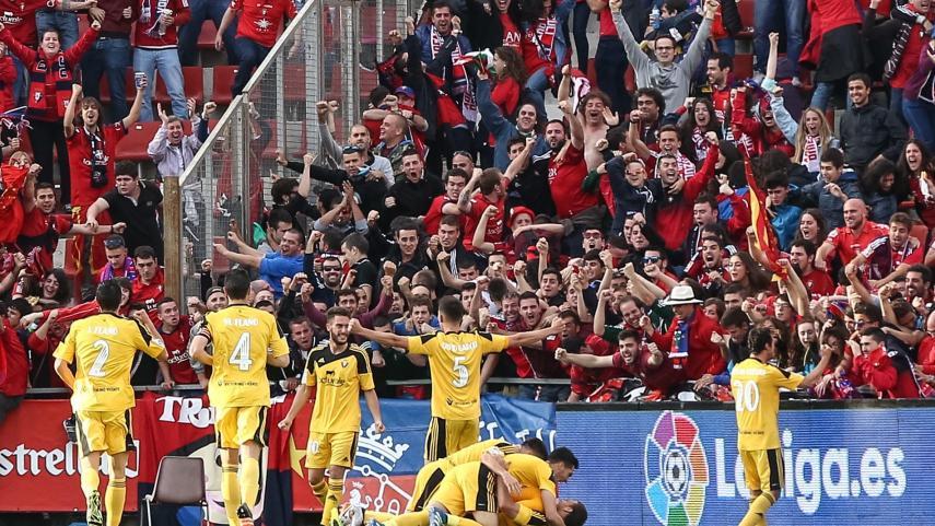 Osasuna se impone en Girona y certifica su ascenso