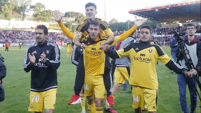 Los clubes de #LaLiga felicitan al At. Osasuna por el ascenso