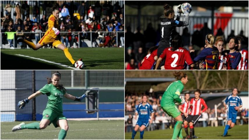 Vota a la mejor portera de la temporada 2015/16 de la Primera División Femenina