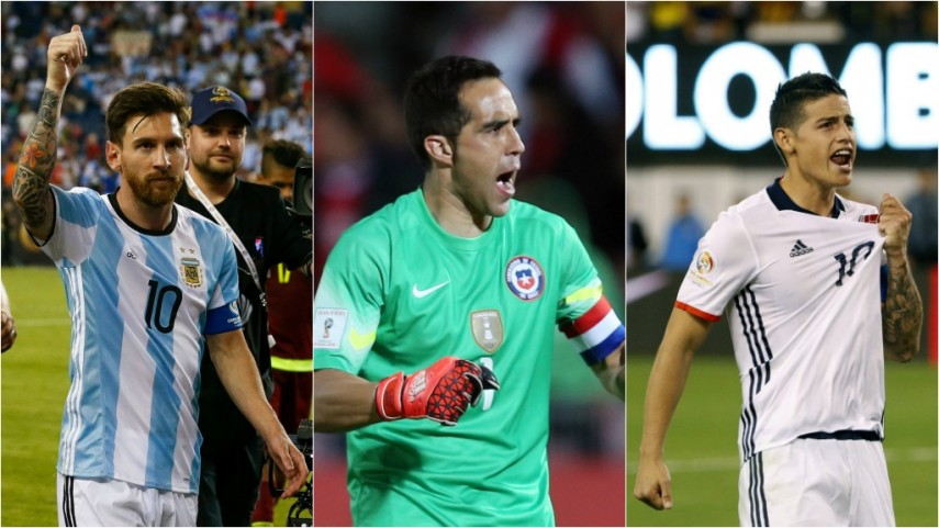 LaLiga, protagonista de las semifinales de la Copa América Centenario 2016