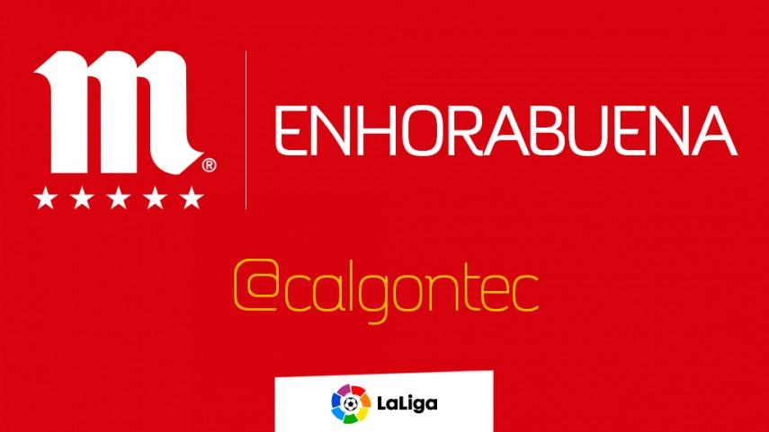 @calgontec gana un abono de temporada gracias a LaLiga y Mahou
