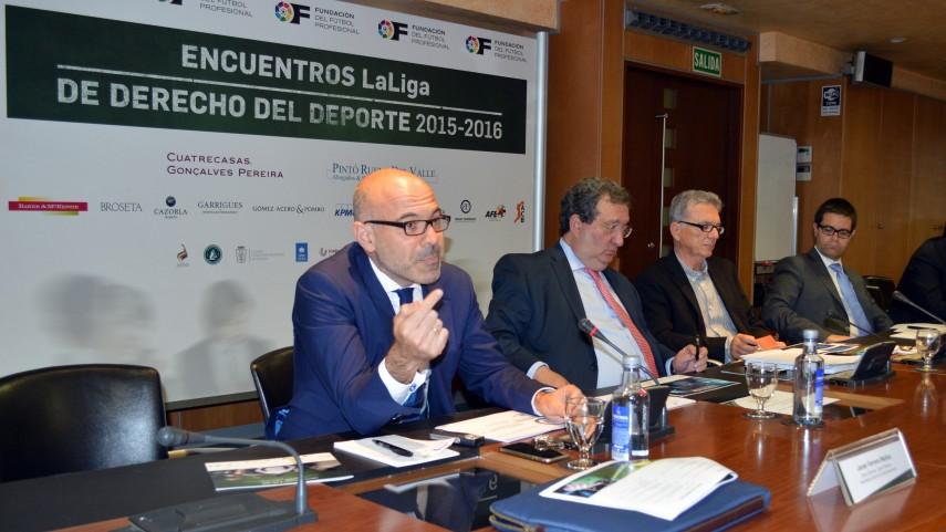 Finalizan los Encuentros LaLiga de Derecho del Deporte 2015-2016