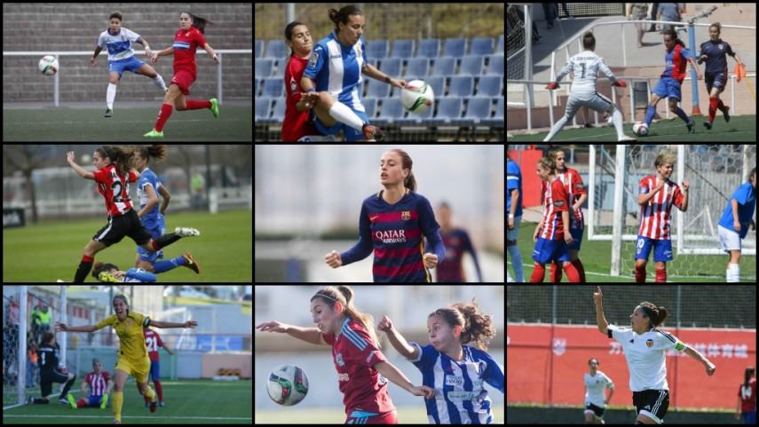 Vota a la mejor centrocampista de la temporada 2015/16 de la Primera División Femenina