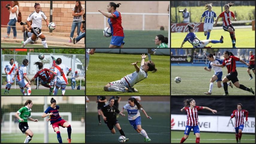 Vota a la mejor atacante de la temporada 2015/16 de la Primera División Femenina