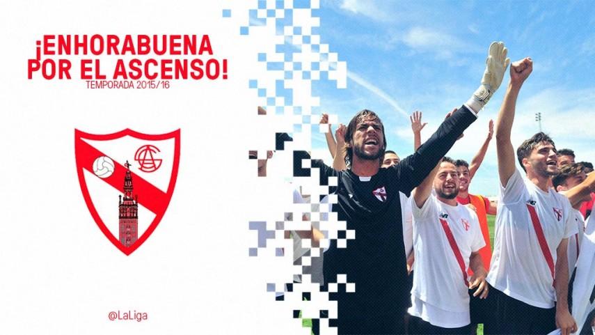 El Sevilla Atlético vuelve a la Liga Adelante siete años después