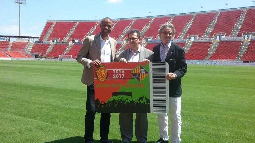El RCD Mallorca y el Palma Futsal lanzan un abono conjunto