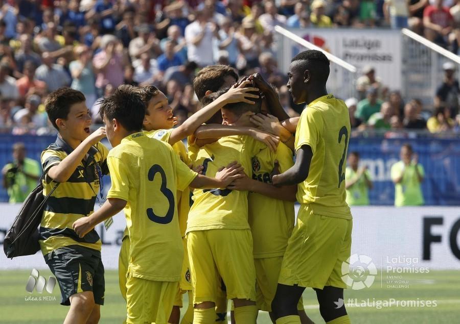 Resultado de imagen de semifinales del torneo nacional laliga promises 2017