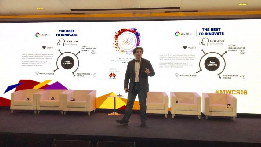 LaLiga participa en el Mobile World Congress de Shanghái