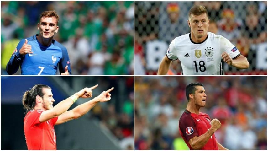 Las estrellas de LaLiga se citan en las semifinales de la EURO 2016